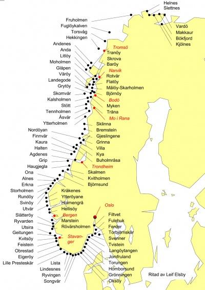 Norska Havet Fyrwiki